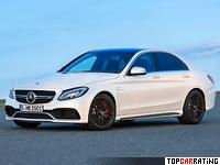 2015 Mercedes-AMG C 63 S (W205) = 290 kph, 510 bhp, 3.8 sec.