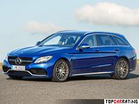 2015 Mercedes-AMG С 63 S Estate (S205) = 250 kph, 510 bhp, 3.9 sec.