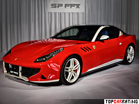 2014 Ferrari SP FFX = 335 kph, 660 bhp, 3.7 sec.
