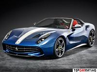 2014 Ferrari F60 America = 330 kph, 740 bhp, 3.2 sec.