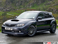 2010 Subaru Cosworth Impreza STi CS400 (GRB) = 250 kph, 400 bhp, 3.7 sec.