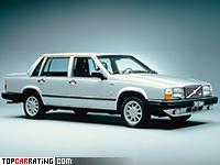 1985 Volvo 740 Turbo = 195 kph, 160 bhp, 9.4 sec.