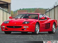 1994 Ferrari F512 M = 315 kph, 440 bhp, 4.7 sec.