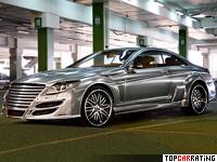 2009 Mercedes-Benz CL 65 AMG Asma Design Phantasma = 330 kph, 725 bhp, 3.9 sec.