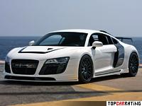 2009 Audi R8 PPI Razor GTR = 332 kph, 520 bhp, 3.7 sec.