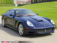 2006 Ferrari 612 Kappa = 320 kph, 540 bhp, 4.3 sec.