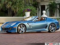 2011 Ferrari Superamerica 45 = 325 kph, 670 bhp, 3.6 sec.