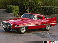 1956 Ferrari 410 Superamerica Coupe by Carrozzeria Ghia = 217 kph, 340 bhp, 6.2 sec.