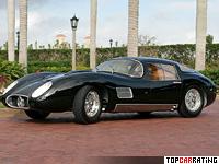 1958 Maserati 450S Le Mans Coupe Fantuzzi = 320 kph, 458 bhp, 5.2 sec.