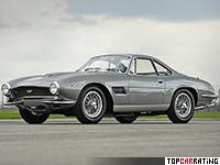 1961 Aston Martin DB4 GT Bertone Jet = 235 kph, 306 bhp, 6.3 sec.