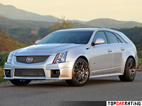 Cadillac CTS-V Sport Wagon Hennessey HPE750 Supercharged  RWD 2011