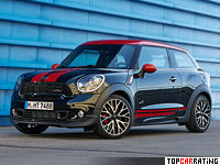 2013 Mini Paceman ALL4 John Cooper Works = 223 kph, 218 bhp, 6.8 sec.