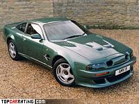 1999 Aston Martin V8 Vantage Le Mans V600 = 322 kph, 608 bhp, 4.18 sec.