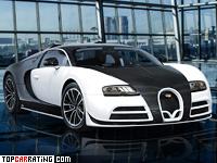 2014 Bugatti Veyron 16.4 Mansory Vivere = 410 kph, 1109 bhp, 2.5 sec.