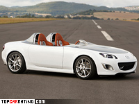 2009 Mazda MX-5 Superlight Concept = 200 kph, 127 bhp, 8.9 sec.
