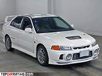 1996 Mitsubishi Lancer GSR Evolution IV (CN9A) = 234 kph, 280 bhp, 5.4 sec.