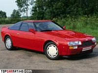 1986 Aston Martin V8 Vantage Zagato = 299 kph, 438 bhp, 5 sec.