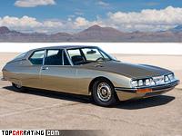 1970 Citroen SM = 235 kph, 178 bhp, 8.3 sec.