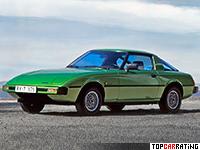 1978 Mazda Savanna RX-7 (SA) = 190 kph, 100 bhp, 9.5 sec.