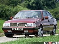 1986 Lancia Thema 8.32 = 240 kph, 215 bhp, 6.8 sec.