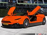 2009 Savage Rivale Roadyacht GTS = 330 kph, 670 bhp, 3.4 sec.