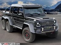 2014 Mercedes-Benz G63 AMG 6x6 Mansory = 190 kph, 840 bhp, 7 sec.