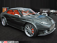 2006 Spyker D12 Peking to Paris = 298 kph, 507 bhp, 5.2 sec.