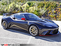 2012 Lotus Evora GTE F1 Team Limited Edition = 300 kph, 443 bhp, 4.2 sec.