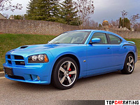 2005 Dodge Charger SRT8 = 280 kph, 425 bhp, 5.1 sec.