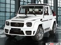 2014 Mercedes-Benz G500 Cabriolet Mansory Speranza = 220 kph, 700 bhp, 4.3 sec.