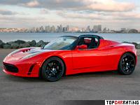 2010 Tesla Roadster Sport = 210 kph, 294 bhp, 3.7 sec.