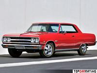 1965 Chevrolet Chevelle Malibu SS 396 = 221 kph, 380 bhp, 6 sec.