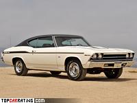 1969 Chevrolet Chevelle Yenko SC 427 Hardtop Coupe = 215 kph, 425 bhp, 5.4 sec.