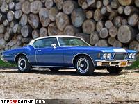 1971 Buick Riviera GS = 191 kph, 335 bhp, 8.1 sec.