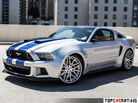 2013 Ford Mustang Shelby GT500 NFS Edition = 304 kph, 671 bhp, 3.4 sec.