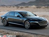 2015 Aston Martin Lagonda Taraf = 281 kph, 600 bhp, 4.2 sec.
