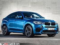 2015 BMW X6 M (F86) = 250 kph, 575 bhp, 4.2 sec.