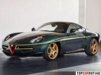 2013 Alfa Romeo Disco Volante Touring = 292 kph, 450 bhp, 4.2 sec.