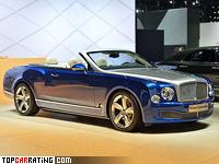 2014 Bentley Grand Convertible Concept = 305 kph, 537 bhp, 5.2 sec.