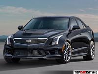 2015 Cadillac ATS-V = 304 kph, 461 bhp, 4.4 sec.