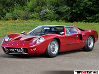 1967 Ford GT40 Mk III = 250 kph, 306 bhp, 5.4 sec.