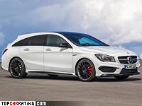2015 Mercedes-AMG CLA 45 Shooting Brake = 250 kph, 360 bhp, 4.7 sec.
