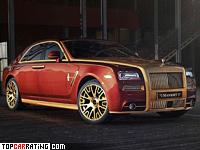 2014 Rolls-Royce Ghost Series II Mansory = 280 kph, 652 bhp, 4.3 sec.