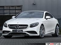 2014 Mercedes-Benz S 63 AMG Coupe IMSA = 300 kph, 720 bhp, 3.7 sec.