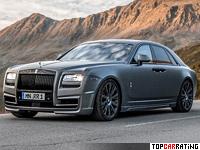 2014 Rolls-Royce Ghost Novitec Spofec V-spec = 250 kph, 708 bhp, 4.4 sec.
