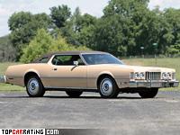 1976 Ford Thunderbird 460 = 198 kph, 227 bhp, 11.7 sec.