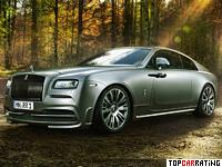 2014 Rolls-Royce Wraith Novitec Spofec = 250 kph, 717 bhp, 4.2 sec.