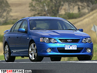 2003 Ford Falcon XR8 = 275 kph, 360 bhp, 6.1 sec.