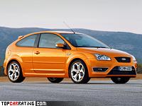 2005 Ford Focus ST = 241 kph, 225 bhp, 6.6 sec.