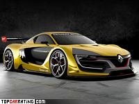 2014 Renault Sport R.S. 01 = 340 kph, 500 bhp, 2.9 sec.